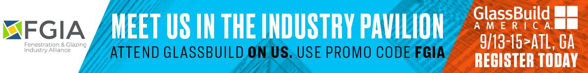 GlassBuild America Industry Pavilion ad