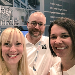AAMA Members Use Twitter to Show Off During GlassBuild
