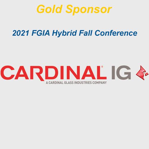 Cardinal IG logo with gold sponsor text