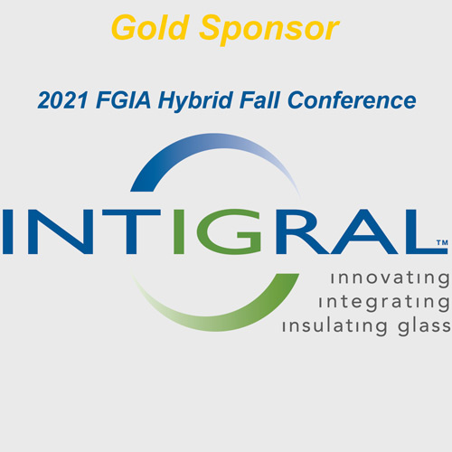 Integral logo with gold sponsor text