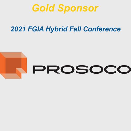 PROSOCO logo with gold sponsor text