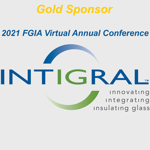 Inteigral logo with gold sponsor text