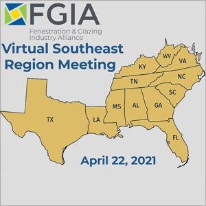 FGIA Virtual Southeast Region Meeting Taking Place April 22