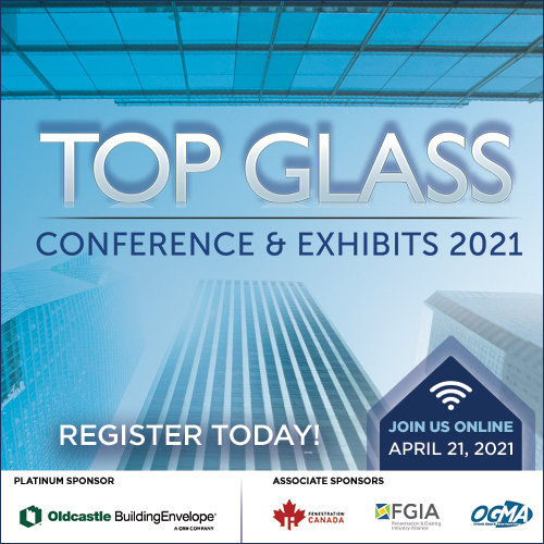 Top Glass Conference and Exhibits 2021 ad image